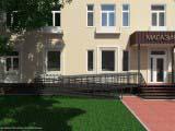 Дизайн фасада здания