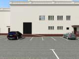 Размещение парковочных мест на территории
