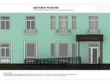 Архитектурное решение оформления фасада здания