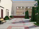 Ландшафтный дизайн общественной территории