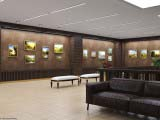 оформление выставочной галереи