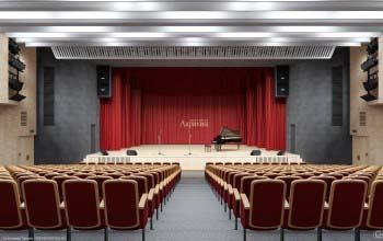 Дизайн интерьера зрительного зала.