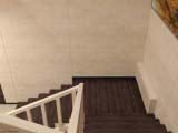 оформление лестницы общественного интерьера
