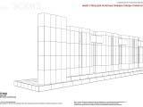 Схематичный эскиз конструкции стеллы