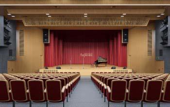Дизайн актового зала дома культуры.