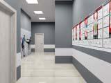проектирование коридора фитнес клуба