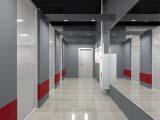 оформление коридора фитнес клуба