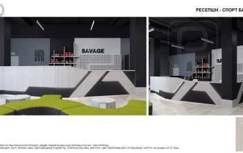Индивидуальный дизайн мебели и предметов декора для фитнес клуба.