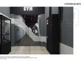 Эскиз витрины фитнес клуба