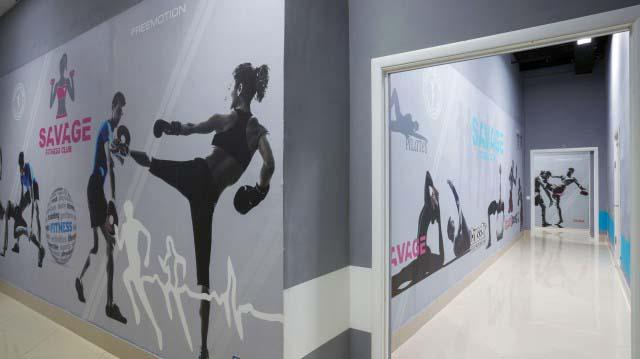 Дизайн фитнес клуба в Московской области