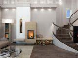 Дизайн гостинной частного дома
