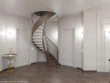Дизайн холла 2 этажа частного дома