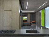 современный интерьер загородного дома