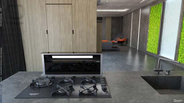 Современный дизайн интерьера загородного дома коттеджа