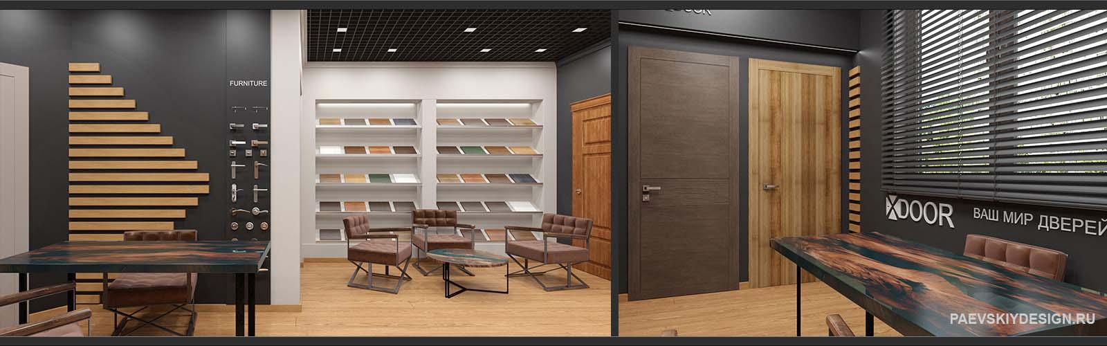 Дизайн шоурумов, интерьеров павильонов для Торговых Центров