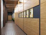 оформление коридора общественного интерьера