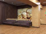 дизайн холла в общественном здании