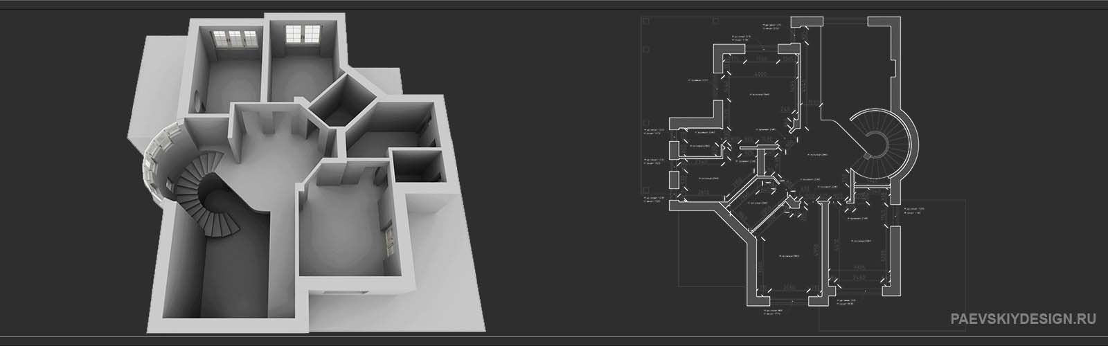 Обмеры помещений для дизайн проекта интерьера