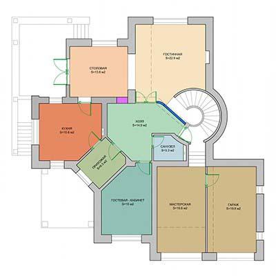 Планировочный этап разработки дизайна интерьеров
