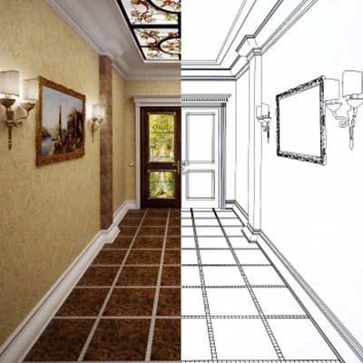 Этапы разработки дизайна интерьеров