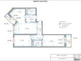 размерный план квартиры
