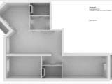 размерный план квартиры 3d