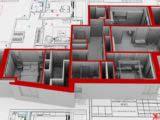 планировочное решение квартиры 3d