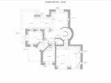 обмерный план загородного дома