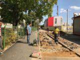 Контролирование работ по благоустройству городской территории