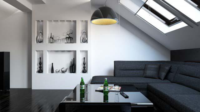 Дизайн интерьера таунхауса в современном стиле