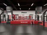 зал бокса единоборств и групповых занятий фитнеса
