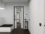 Прихожая в современной квартире 85 кв м