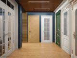 дизайн шоурума дверей