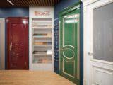 дизайн шоурума для дверей