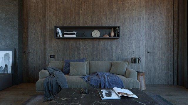Дизайн современного частного дома виллы Hi-Tech PAEVSKIYDESIGN